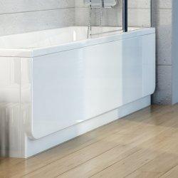 Panou frontal pentru cada Ravak Concept Chrome 170cm, alb