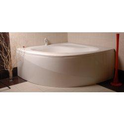 Cazi de baie simple Cada baie de colt Belform Dahlia 150x150cm, acril