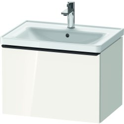 Default Category SensoDays Dulap baza Duravit D-Neo cu 1 sertar, pentru lavoar 65cm, White High Gloss Decor