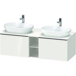Default Category SensoDays Dulap baza Duravit D-Neo cu 2 sertare, pentru lavoar 140cm, White High Gloss Decor