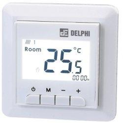 Confort termic Termostat de ambient cu fir pentru interior Delex DEL9000