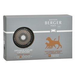 Odorizante auto Set odorizant masina Berger Animals + rezerva ceramica