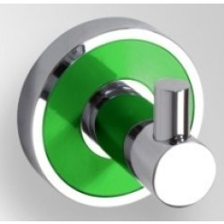 Cuier simplu Bemeta Trend-i ornament verde
