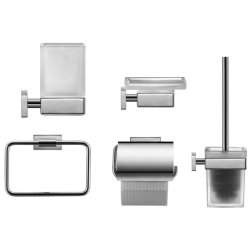 Seturi accesorii baie Set accesorii baie Duravit Karree 5 piese