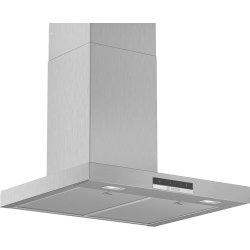 Produse Noi Hota decorativa Bosch DWB66DM50 Serie 4, 60cm, design box, 3 trepte + Intensiv, 605 m³/h Intensiv, inox