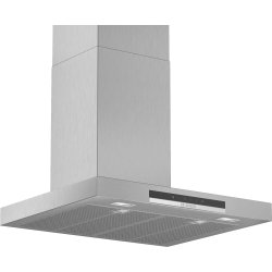 Produse Noi Hota decorativa Bosch DWB67IM50 Serie 4, 60cm, design box, 3 trepte + Intensiv, 752 m³/h Intensiv, inox