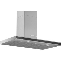 Produse Noi Hota decorativa Bosch DWB97FM50 Serie 4, 90cm, design box, 3 trepte + Intensiv, 739 m³/h Intensiv, inox