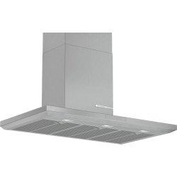 Produse Noi Hota decorativa Bosch DWB97LM50 Serie 6, 90cm, design box, 3 trepte + 2 Intensiv, 697 m³/h Intensiv, inox