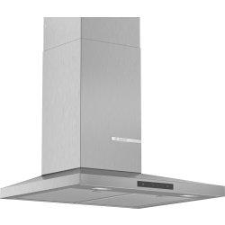 Produse Noi Hota decorativa Bosch DWQ66DM50 Serie 4, 60cm, design slim pyramid, 3 trepte + Intensiv, 644 m³/h Intensiv, inox