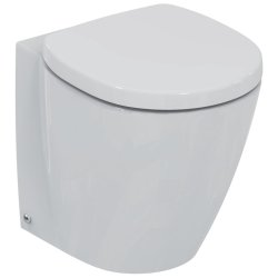 Vas WC Ideal Standard Connect Space Compact back-to-wall pentru rezervor ingropat