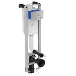 Default Category SensoDays Set rezervor incastrat Ideal Standard ProSys Eco M cu cadru metalic si clapeta Oleas M2 crom lucios
