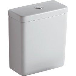 Rezervor Ideal Standard pentru vas wc pe pardoseala Connect Cube, alimentare la baza, alb