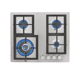 Plite incorporabile Plita gaz incorporabila Teka EFX 60 4G AI AL DR CI 4 arzatoare, gratare fonta, inox