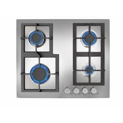 Electrocasnice mari Plita gaz incorporabila Teka EFX 60 4G AI AL CI 4 arzatoare, gratare fonta, inox