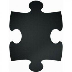 Table de scris & Accesorii Set table de scris autoadezive Securit Puzzle Square, 40x29.6cm, negru