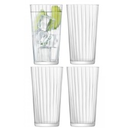 Pahare & Cupe Set 4 pahare LSA International Gio Line Juice 320ml