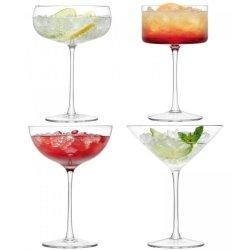 Pahare & Cupe Set 4 pahare sampanie LSA International Lulu Cocktail