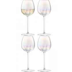 Set 4 pahare vin alb LSA International Pearl 325ml
