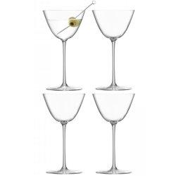 Pahare & Cupe Set 4 pahare LSA International Borough Martini 195ml