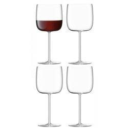 Pahare & Cupe Set 4 pahare LSA International Borough Wine 450ml
