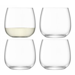 Set 4 pahare LSA International Borough Stemless 370ml