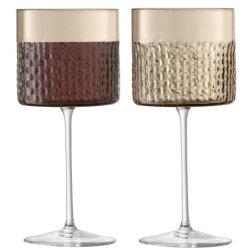 Default Category SensoDays Set 2 pahare LSA International Wicker Wine 320ml, taupe