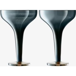 Default Category SensoDays Set 2 pahare sampanie LSA International Epoque Saucer 150ml Sapphire/Lustre