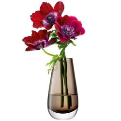 Decoratiuni  Vaza LSA International Flower Colour Bud h14cm Mocha