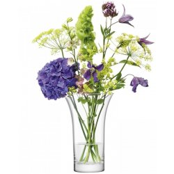 Vaze & Boluri decorative Vaza LSA International Flower Flared Bouquet h22cm