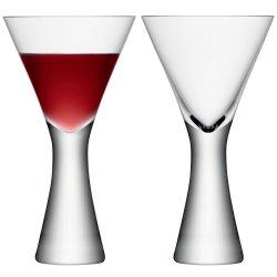 Cadouri Craciun & Decoratiuni Set 2 pahare vin LSA International Moya 395ml