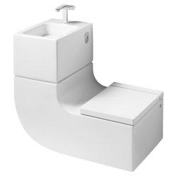 Lavoare baie Set concept Roca W+W contine lavoar, baterie lavoar, vas wc si capac
