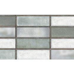 Placari & Pardoseli Faianta Diesel living Industrial Glass 10x30cm, 7mm, Green