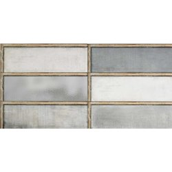 Placari & Pardoseli Faianta Diesel living Industrial Glass 60x20cm, 7mm, Grey