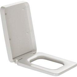 Capace WC Capac WC Laufen Il Bagno Alessi One Square cu inchidere lenta, alb