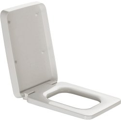 Default Category SensoDays Capac WC Laufen Il Bagno Alessi One Square cu inchidere lenta, alb