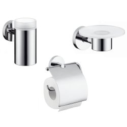 Default Category SensoDays Set accesorii baie Hansgrohe Logis 3 piese