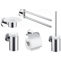 Default Category SensoDays Set accesorii baie Hansgrohe Logis 5 piese