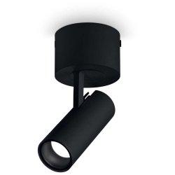 Aplice de perete & Plafoniere Aplica Ideal Lux Play PL1, LED 7W, negru