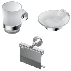 Seturi accesorii baie Set accesorii baie Ideal Standard IOM 3 piese