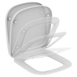 Capace WC Capac WC Ideal Standard Esedra compact cu inchidere lenta