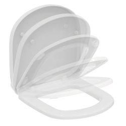 Capace WC Capac WC Ideal Standard Tempo cu inchidere lenta pentru vas cu proiectie scurta