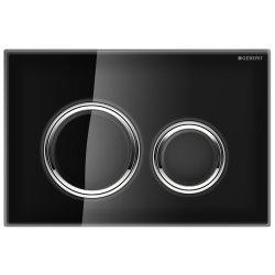Default Category SensoDays Clapeta actionare Geberit Sigma 21 negru-crom lucios