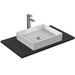 Lavoare baie Lavoar Ideal Standard Strada 50x42cm, fara orificiu baterie, fara preaplin, montare pe blat