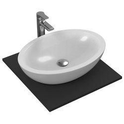 Obiecte sanitare Lavoar Ideal Standard Strada 60x42cm, fara orificiu baterie, fara preaplin, montare pe blat