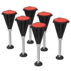Set 6 picioare pentru cadita Ideal Standard Ultra Flat S