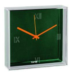 Default Category SensoDays Ceas Kartell Tic&Tac design Philippe Starck & Eugeni Quitllet, 30x30cm, verde menta metalizat