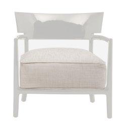 Canapele & Fotolii Fotoliu Kartell Cara Solid design Philippe Stark & Sergio Schito, ivoire/beige