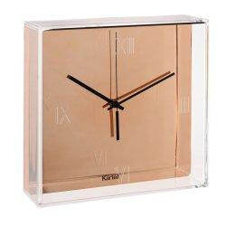 Default Category SensoDays Ceas Kartell Tic&Tac design Philippe Starck & Eugeni Quitllet, 30x30cm, cupru metalizat