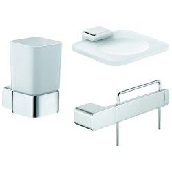 Accesorii baie Set accesorii baie Kludi E2 3 piese
