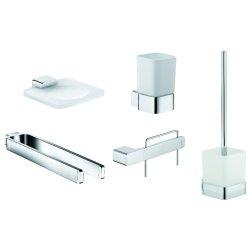 Seturi accesorii baie Set accesorii baie Kludi E2 5 piese